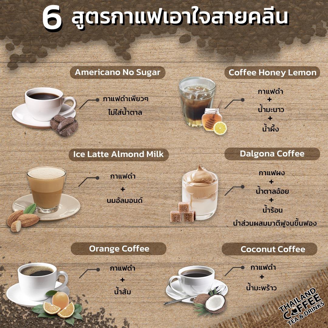 เอาใจคอกาแฟคนรักสุขภาพ
