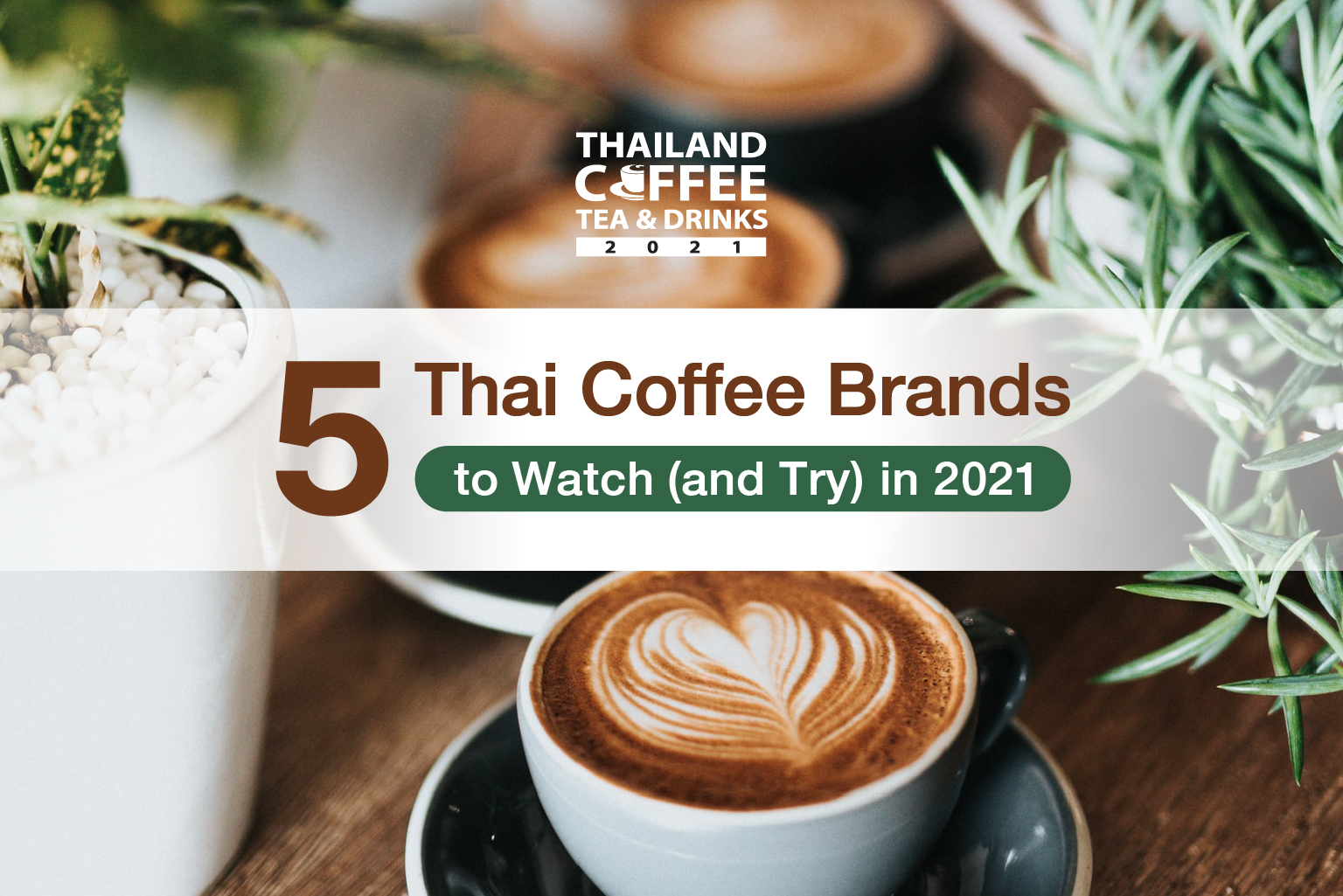 5 Thai Coffee Brands to Watch (and Try) in 2021