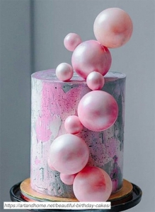Blowing-Bubbles-Birthday-Cake