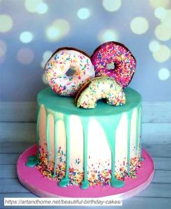 Donut-Birthday-Cake